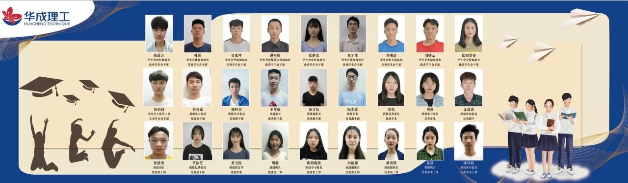 时间线 | 学生风采展示 — 我在华成挺好的之优秀学生风采展示