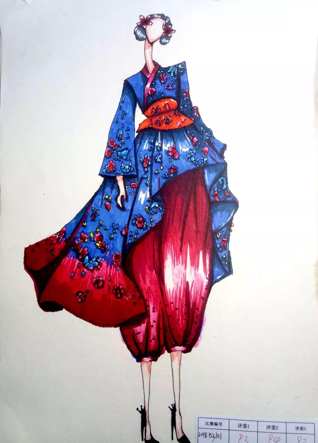 我在华成挺好的   绘画比赛作品风采展示